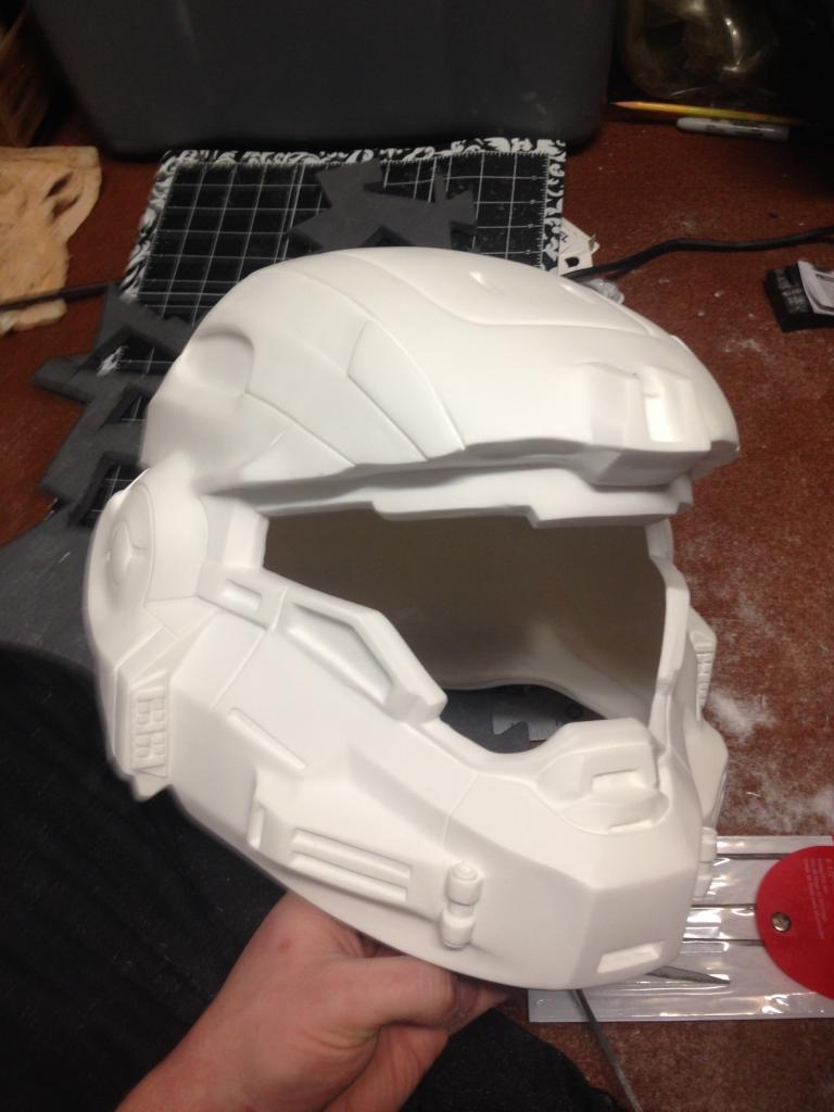 Noble Six Helmet : noble, helmet, Noble, Build, Thread, Costume, Maker, Community, 405th