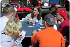 Poker At IU Homecoming