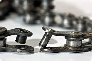 Broken Bike Chain