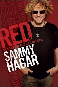 RED: My Uncensored Life In Rock by Sammy Hagar (2011)
