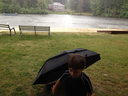 Father's Day 2012 - C Dives For Cover