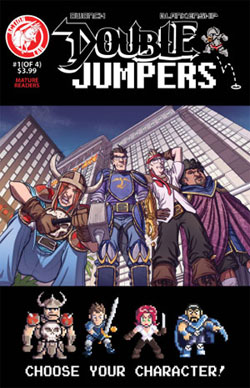 Double Jumpers #1 By Action Lab Entertainment