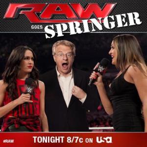 Jerry Springer On RAW