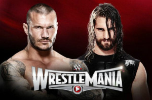 WrestleMania 31 - Randy Orton Vs Seth Rollins