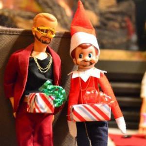 Naughty Elf On The Shelf
