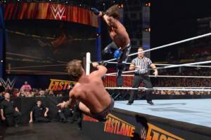 Fastlane 2016 - AJ Styles vs Chris Jericho