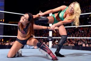 Fastlane 2016 - Charlotte vs Brie Bella