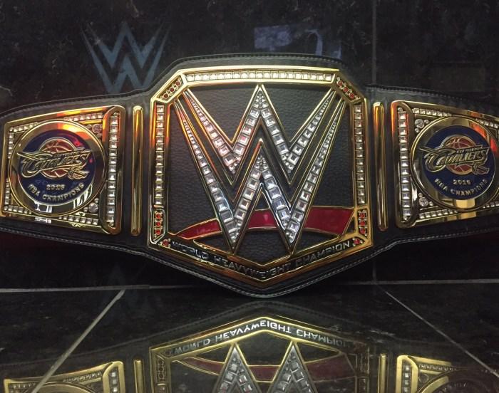 Cavs WWE World Title Belt