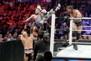 Battleground (2016) - Cena Enzo & Cass vs The Club
