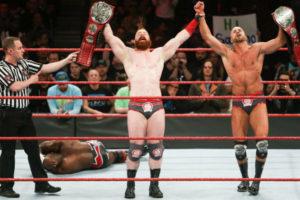 Elimination Chamber 2018 - The Bar vs Titus Worldwide