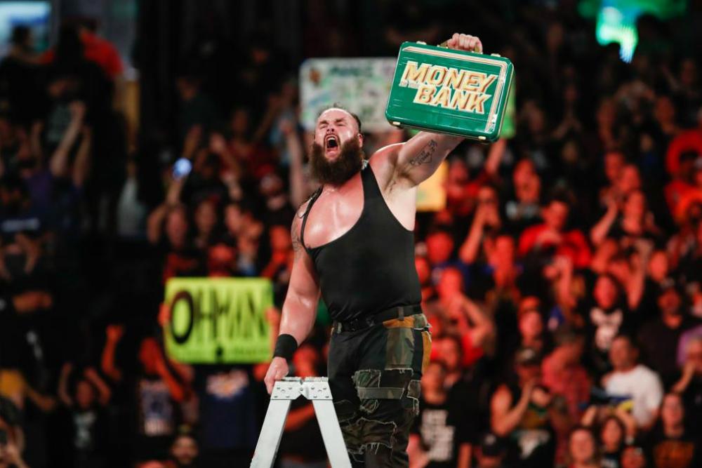Money In The Bank (2018) Men's Match Strowman