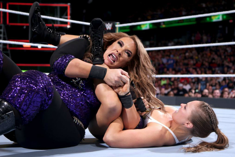 Money In The Bank (2018) Rousey vs Jax