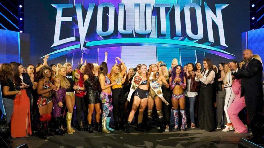 WWE Evolution 2018