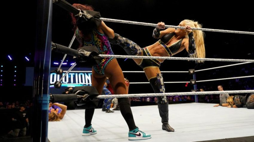 WWE Evolution (2018) - Battle Royal
