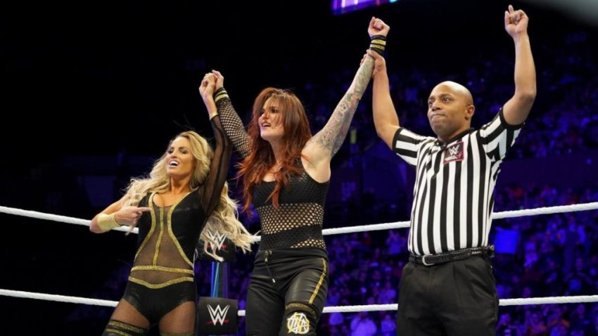 WWE Evolution (2018) - Trish Stratus & Lita vs. Mickie James & Alicia Fox