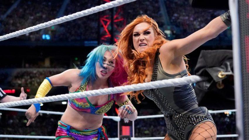 2019 Royal Rumble - Asuka vs. Lynch