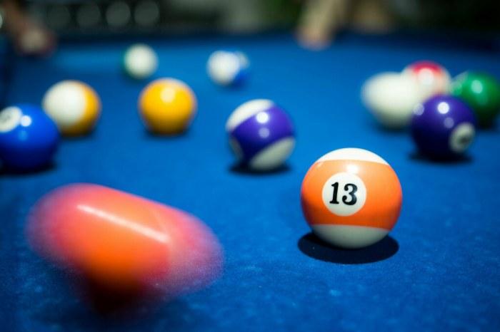13 Years - Pool Billiards Ball