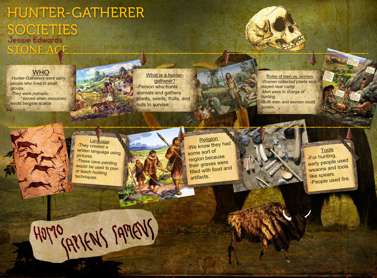 Hunter Gatherer Societies Eng Gatherer Hunter Prehistory Social Societies Stu S Tp
