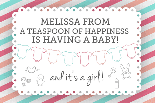 Virtual Baby Shower for Melissa Belanger