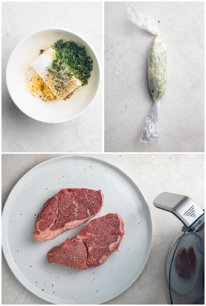 Instructions for air fryer steak
