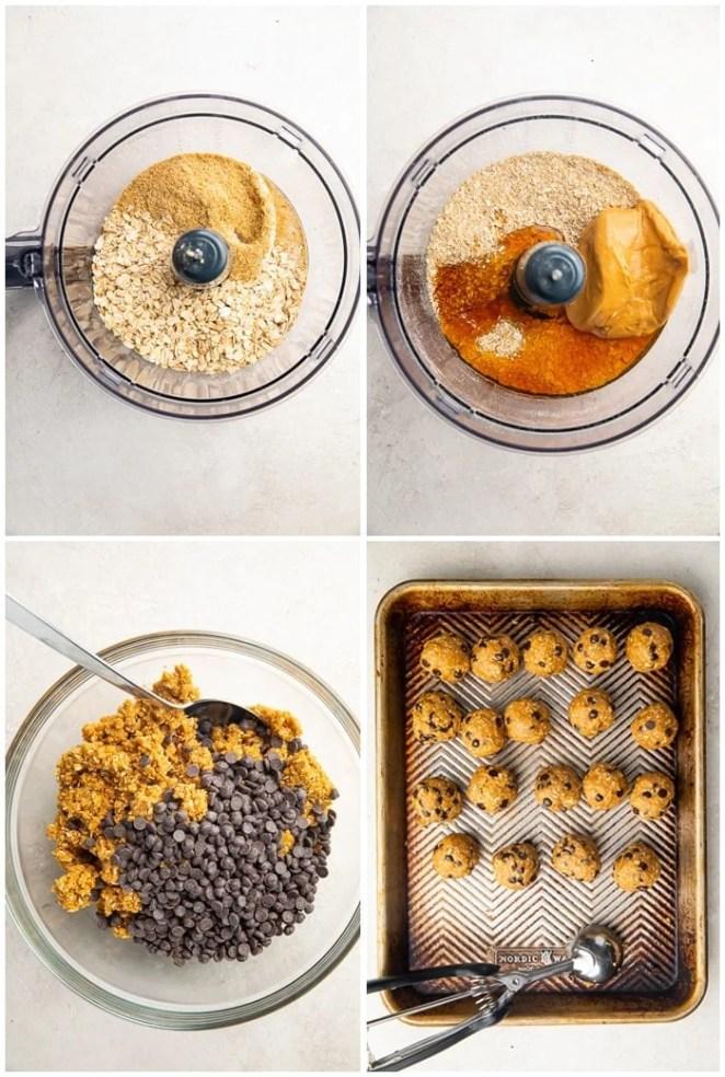 Instructions for peanut butter energy balls