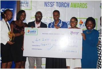 NSSF Torch Awards – we won!!!