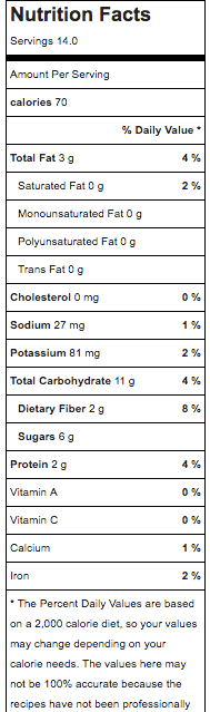 Creme Brulee Energy Bites MyFitnessPal Nutrition Information