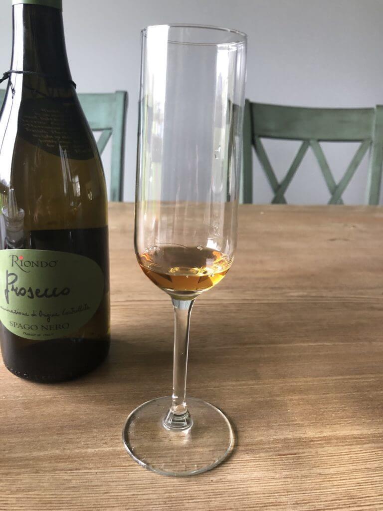 Grand Marnier in Champagne Flute