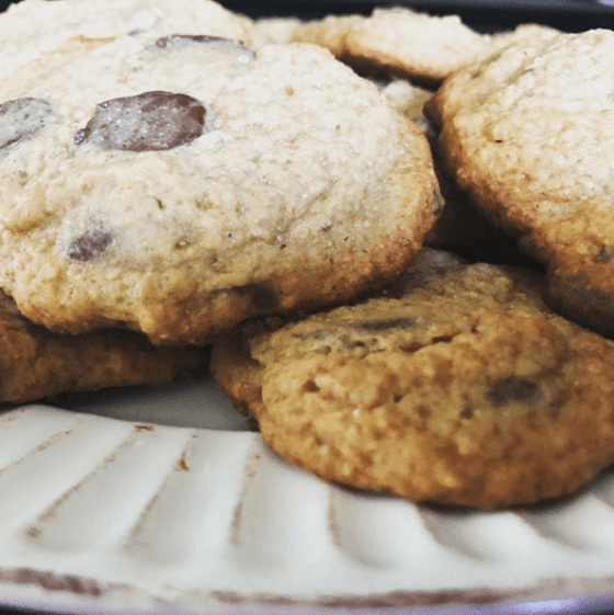Better for You Chocolate Chip Cookies
