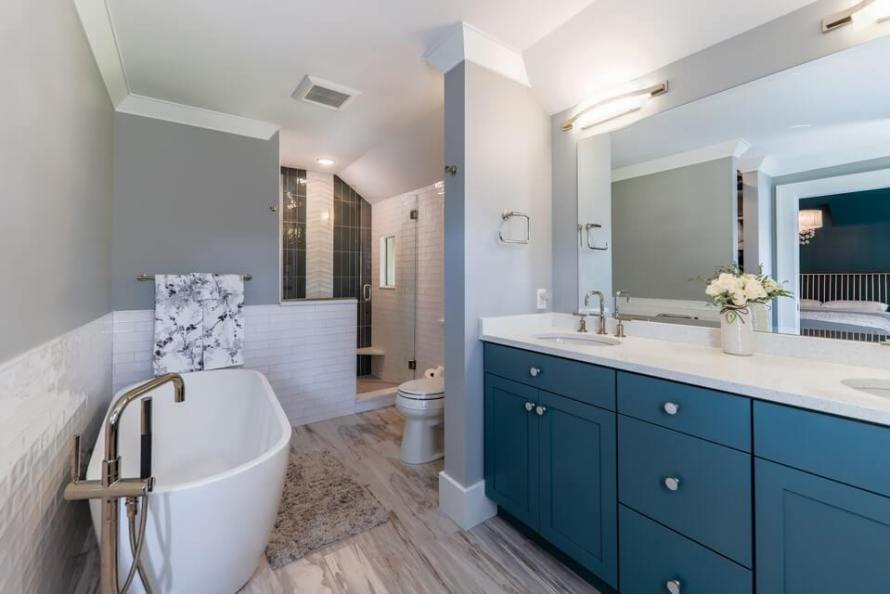 Interiors by J. Curry Master Bath