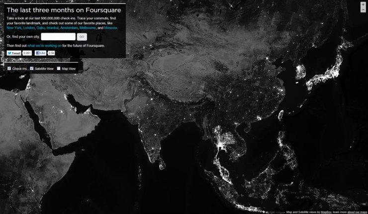 Vista de Asia