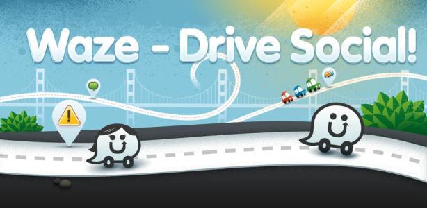 Waze usa tu GPS y mapas dinámicos con un toque social que hace manejar un juego