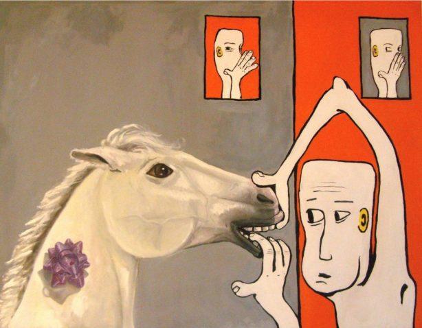 A caballo regalado...(imagen sacada de Ojarbol.wordpress)