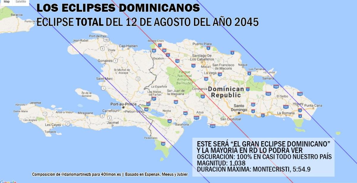 """Ayer, hoy y mañana de los """"eclipses dominicanos"""""""