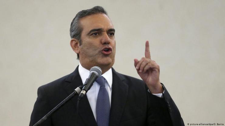 Luis Abinader (foto: Orlando Barria)
