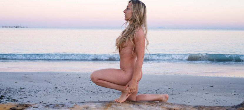 I tried naked yoga and here's what happened