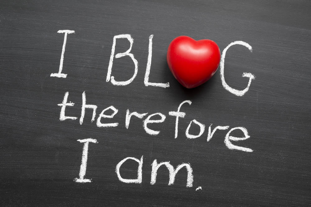 I blog - therefore I am - Find out why you too should start a blog! | 40plusentrepreneur.com