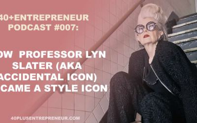 Podcast #7: how professor Lyn Slater turned into a style icon and became world famous!