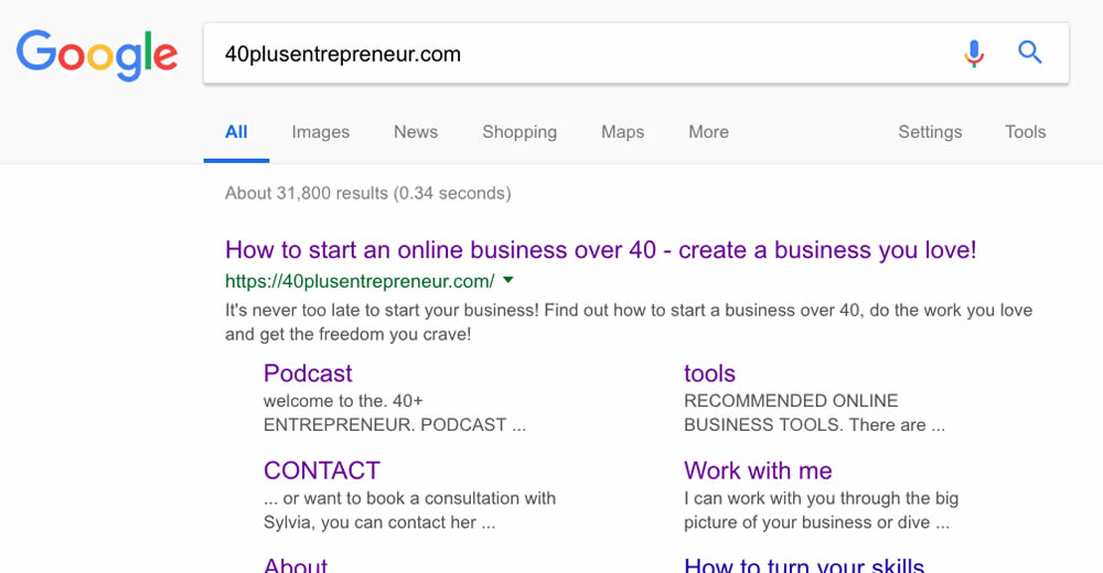 Increase website traffic with SEO and Google | 40plusentrepreneur.com