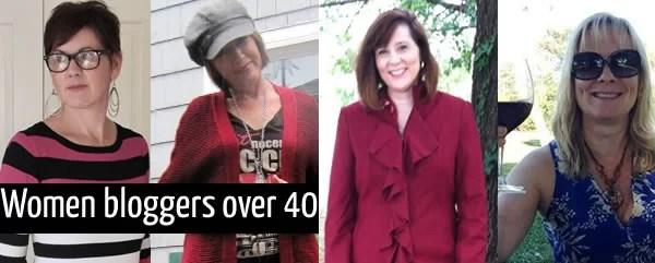 women bloggers over 40