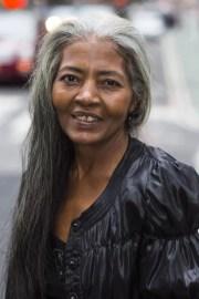 celebrating women with long grey