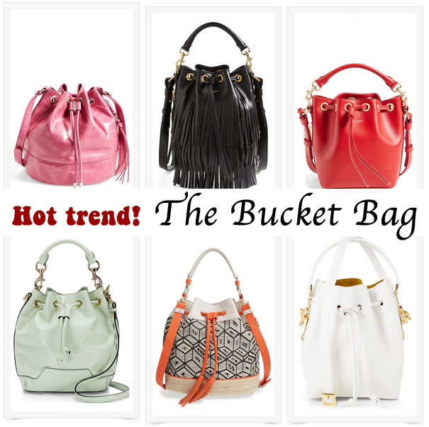 Spring 2015 trend: the bucket bag | 40plusstyle.com