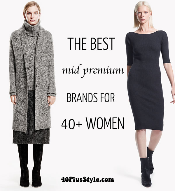 The Best Mid Premium Brands For Women Over 40