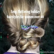easy and stylish holiday hairstyles