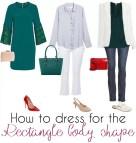 Rectangle Shape Body Outfits