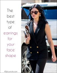 The best types of earrings for your face shape