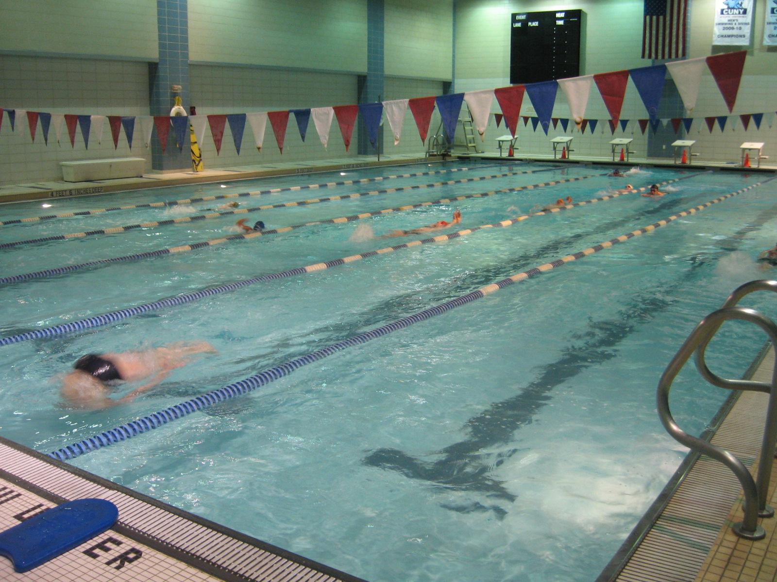 #17 Baruch College Pool  40 Pools