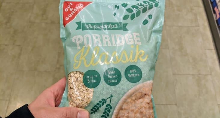Porridge Klassik von Gut & Günstig