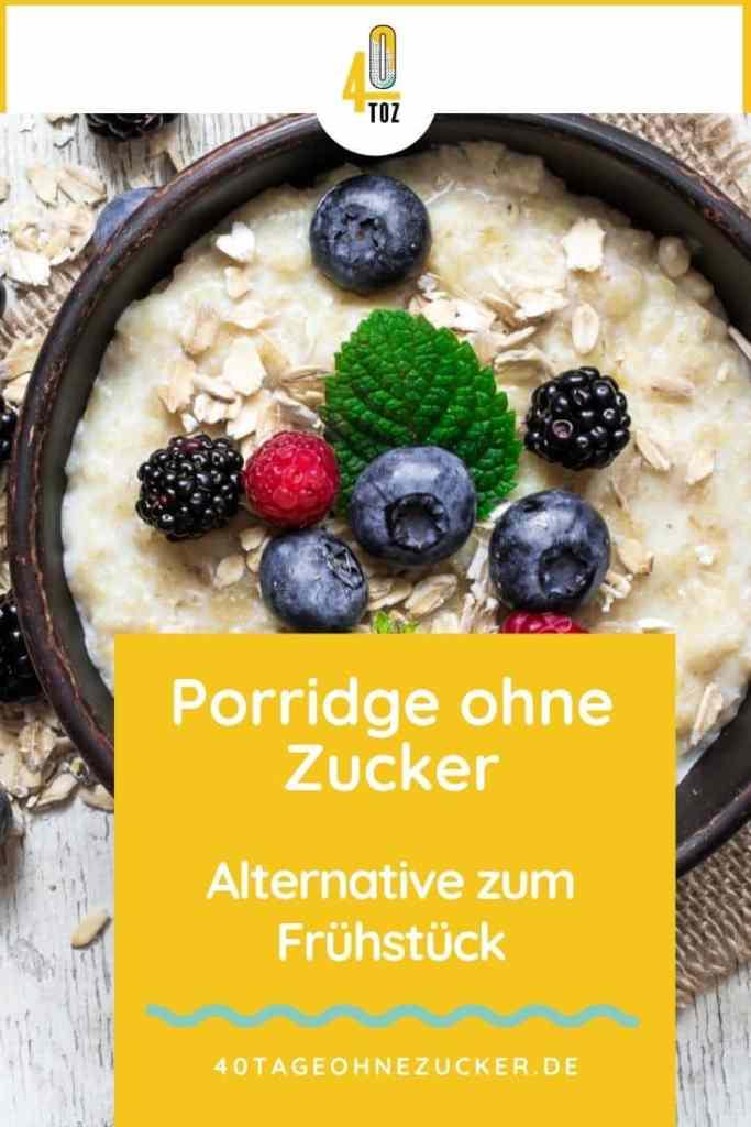 Porridge ohne Zucker