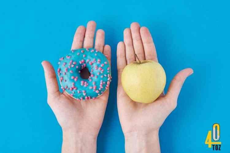 Zuckerdiät oder Ernährungsumstellung